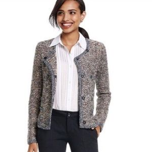 Cabi xs brown sweater cardigan blazer style 3016